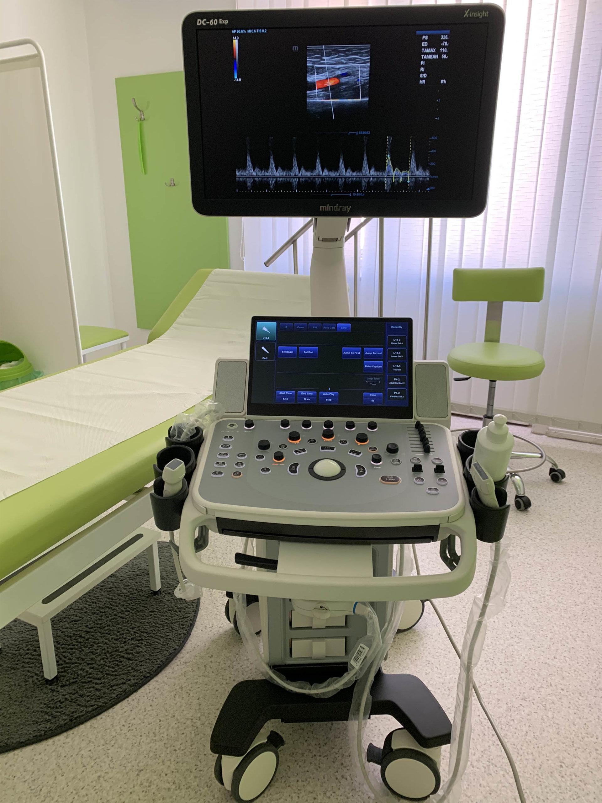 DC-60 Expert ultrahang-diagnosztikai készülék